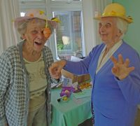 Hats off to Care Home Residents' Easter