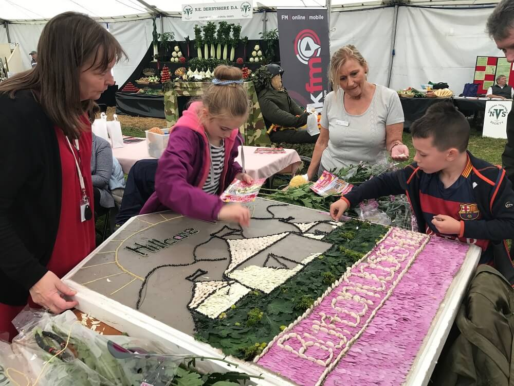 Welldressing champions at Bakewell show