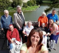 day out for residents of the island