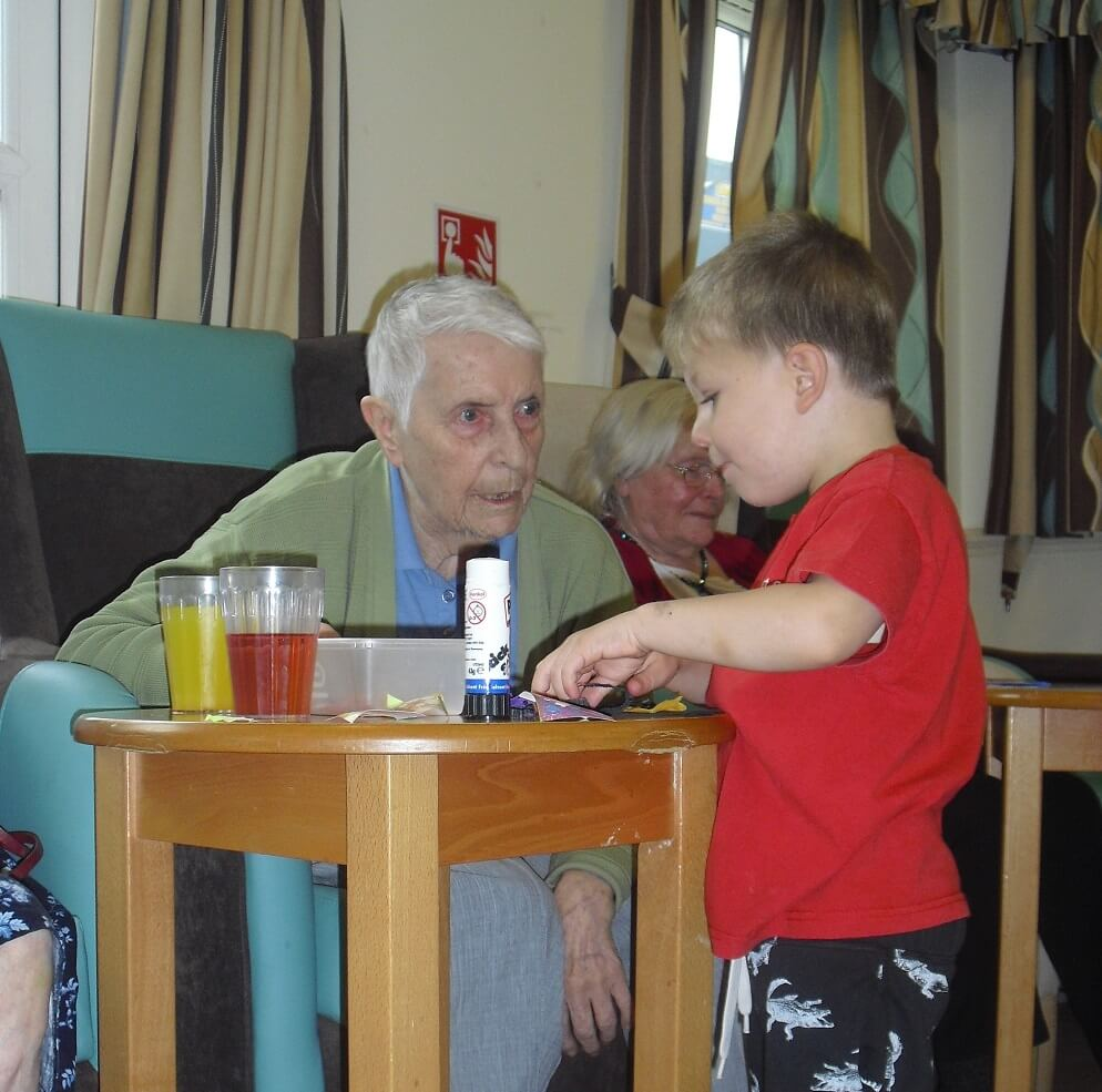Windsor care home intergenerational project