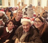 Brunelcare care home residents and carers enjoy carol service