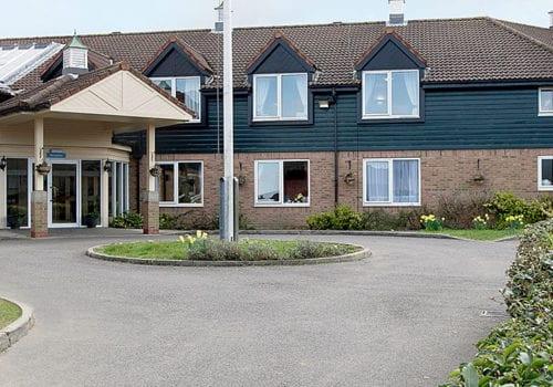 the lawns care home bupa