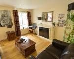 Living room area at Cedar Grange