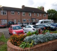 Bramble Lodge residential home exterior