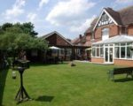 Bramble House Care Home and gardens
