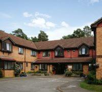 Cedar Lodge care home frontage