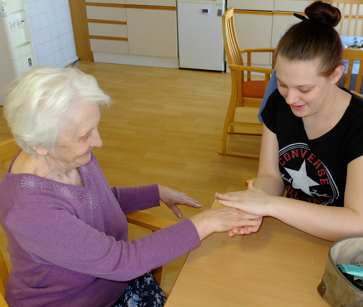 Northfleet Residents enjoy spot of pampering
