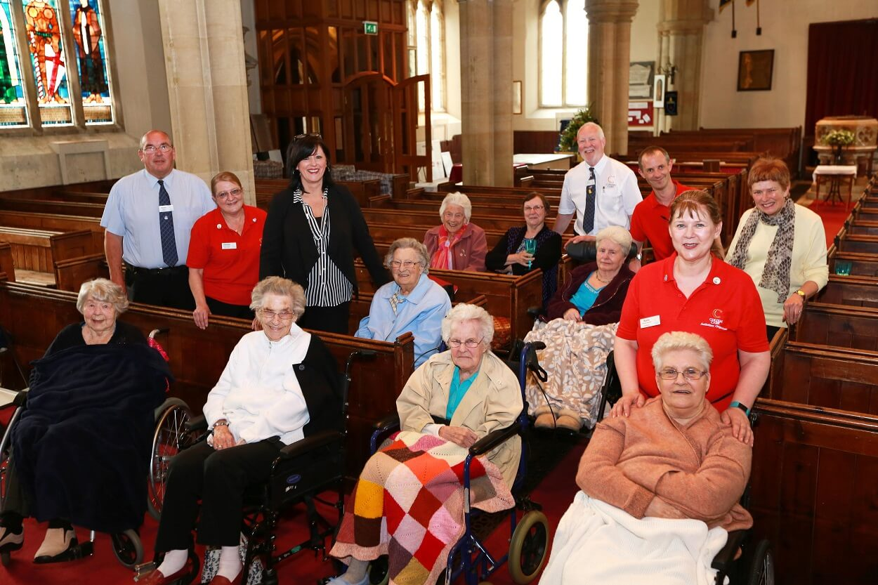 Care home residents treated to stunning musical 'premiere'