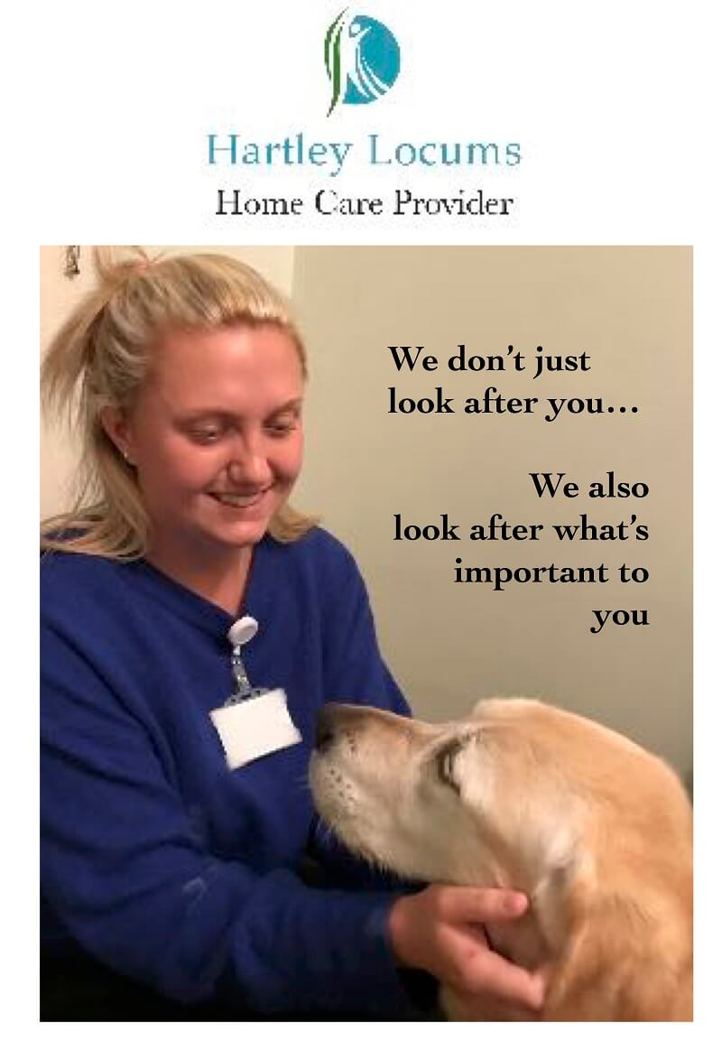 Hartley Locums Home Care Services Warwickshire Care