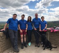 Seafarers UK Royal Alfred Seafarers' Society team training hard for the 24 Peaks