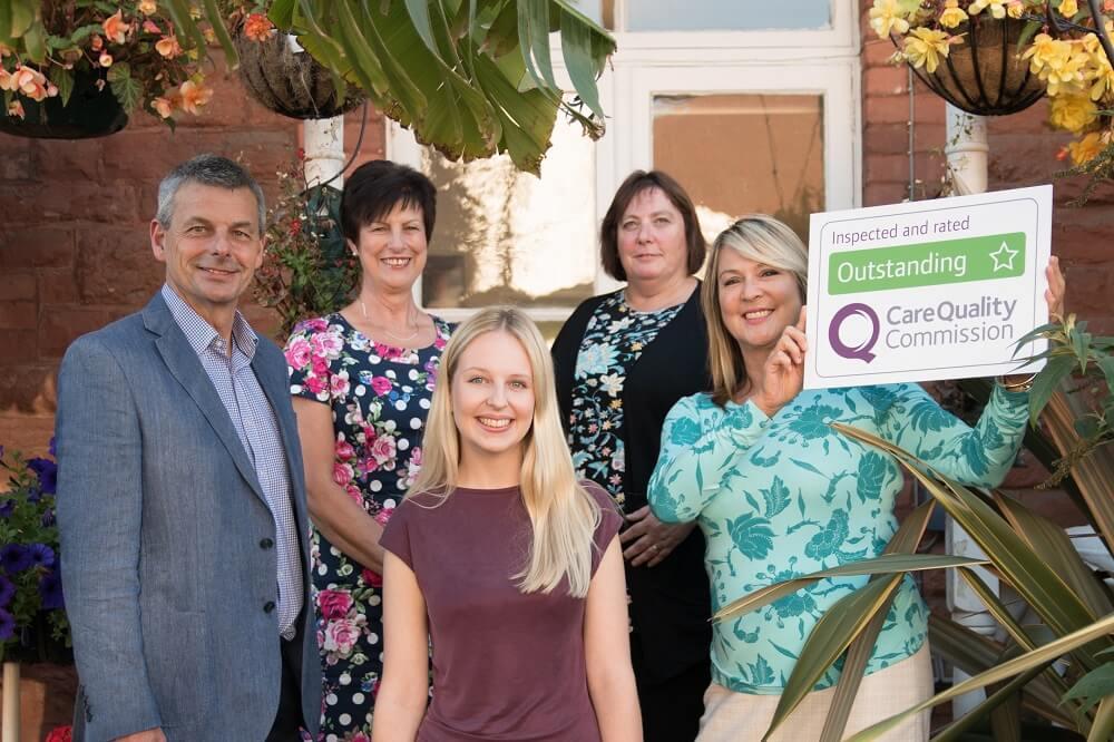 the team from HomeInstead South Devon