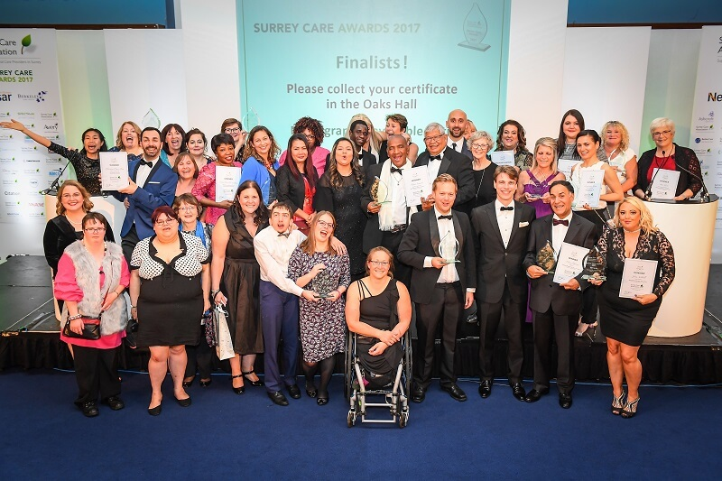 surrey care awards winners 2017