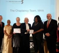 MHA Chaplaincy team receives award