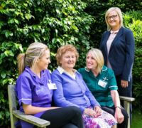 Some of the team from SureCare Wycombe