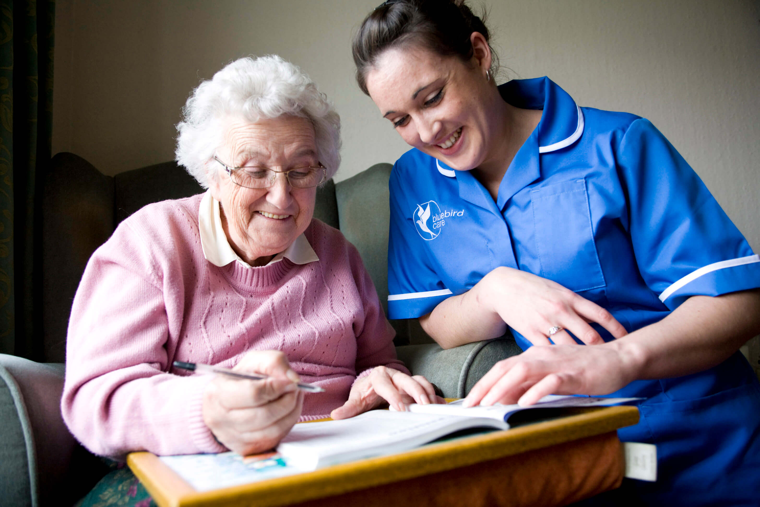 Bluebird Care has launched an initiative to provide free hospital visits for all its customers