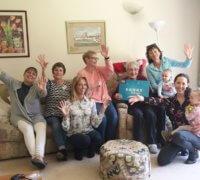 Staff from Home Instead who are helping raise the profile of music for people with dementia with their songs to remember campaign