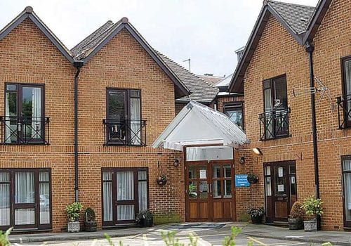 Arkley Care Home Exterior