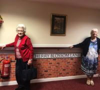 street signs help dementia residents find their rooms at care home