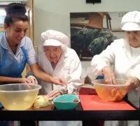 Holmewood resident Sally making burgers