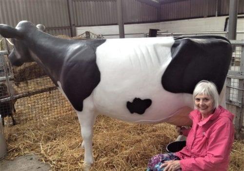 Annabelle on the farm trip