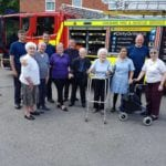 Widnes elderly get lesson in fire safety