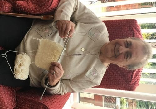 d93657ada Elderly knit neonatal blankets for North Tees Hospital - Care Choices