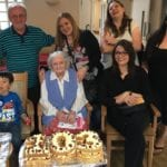 Birthdays a century apart Mavis and Christian celebrate