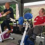 Deerhurst resident and carer sponsored cycle