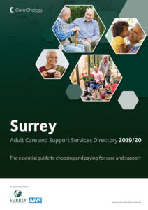 Surrey care Services Directory cover