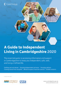Cambridge Care Directory Cover