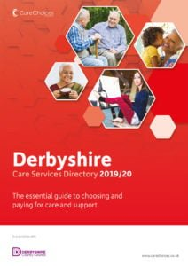 Derbyshire Care Services Directory 2019/20 front cover