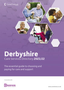 Derbyshire Care Directory 2021/22 front cover