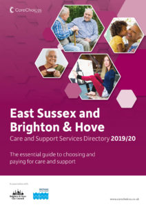 East Sussex Care Directory 2019 cover