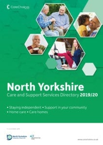 North TYorkshire care and support services directory 2019/20