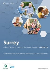 Surrey care services directory