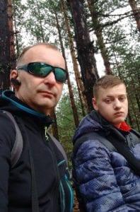 Elite carers Jakub and service user Callum