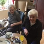 A care home in Glasgow has given its residents the perfect place to enjoy a cuppa, with the creation of its own vintage tea room, 'The Tipsy Teapot.'