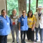 Bluebird Care staff with the local Mayor