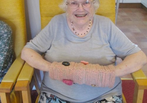 Marling Court resident displays twiddlemuff