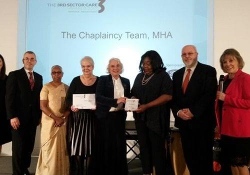 MHA Chaplaincy team receives award