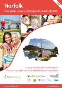 Norfolk Care Services Directory - guide to adult social care in norfolk