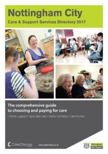 Nottingham City Care Services Directory 2017