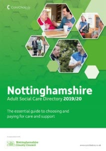 Nottinghamshire Directory front cover
