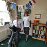 Paul and Wendy at Sheffield care home