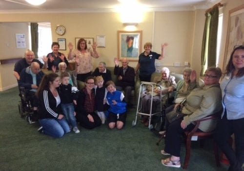 residents with dementia