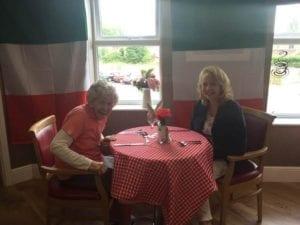 Residents at Ebor Court enjoy a taste of Little Italy