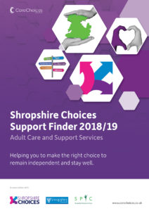 Shropshire Care Services Directory cover