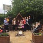 Charitable family create sensory garden
