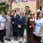 Staff at one of last years Country Court care Homes Care Home Open day