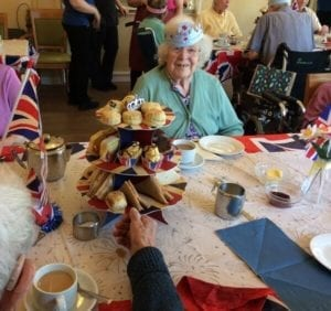 care home open day 2018 Rose Meadow - Royal afternoon tea